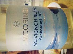 2011 Sauvignon Blanc, The Moorings New Zealand #wine fruity & complex