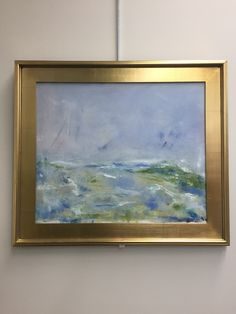 Stop by anytime during Library hours to view the January Art Display, landscapes & still life by Paul Jay Edelson, resident of Poquott. 🎨 ****** Featured painting: Shoals #2