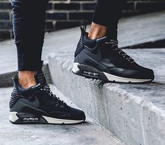buy online 1d21e 78787 Cold fall rains are already falling and snow is not going to be far behind. Nike  has you covered. The Nike Air Max 90 Sneakerboot is one of the newest ...