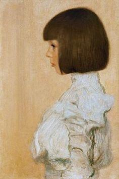 Gustav Klimt - Portret van Helene Klimt