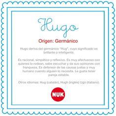 El nombre del bebé: Hugo #BebésNUK