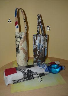 insulated bottle holder by Snailwithamail on Etsy