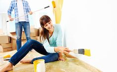 Pintar a casa não é uma tarefa tão simples quanto parece, e são necessários alguns cuidados para deixar a pintura uniforme.