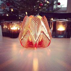 Blossom tealight candle holder - Copper www.beandliv.com #finnishdesign #beandliv  Photo by @madebylauraelina