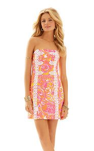 Tansy Strapless Dress