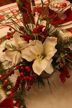 Christmas centerpiece ~ Sweet Something Designs