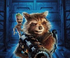 Baby Groot, Guardians of the galaxy vol. 2, movie, rocket raccoon wallpaper