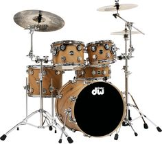 DW Drums Eco-X Project - Desert Sand with Chrome Hardware