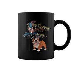 Mug USA Flag With Bulldog Grandpa Grandma Dad Mom Girl Boy Guy Lady Men Women Man Woman Pet Dog Lover, Order HERE ==> https://www.sunfrog.com/Pets/129303294-828473495.html?9410, Please tag & share with your friends who would love it, #xmasgifts #superbowl #jeepsafari