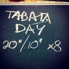 Tabata - best way to increase work capacity. High intensity functional movement.
