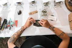 Chill couple has weed bar and budtender at their wedding - MASHABLE #Marijuana, #Wedding, #Lifestyle