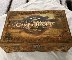 Game of Thrones inspired box!                                                                                                                                                                                 More