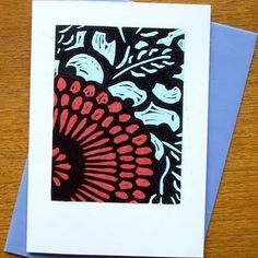 Crafty Little Esme: Folksy Friday - Lino Printing