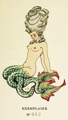 .Victorian mermaid
