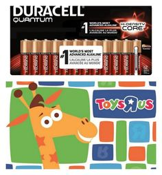 toys r us duracell giveaway