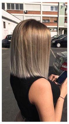 Blonde Hair Looks, Brown Blonde Hair, Medium Hair Styles, Curly Hair Styles, Hair Tonic, Hair Highlights, Balayage Hair, Hair Hacks, Bob Hairstyles