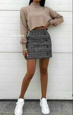 Pin by 🌻 bear jorge 🌻 on appearel in 2019 outfit stile, outfit ideen, läs Cute Skirt Outfits, Cute Winter Outfits, Cute Casual Outfits, Cute Skirts, Winter Skirt Outfit, Casual Dresses, Kohls Dresses, Dresses Dresses, Casual Outfits For Teens Summer