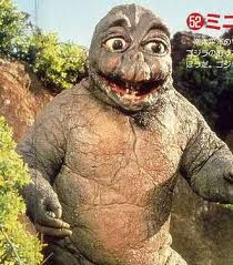 Godzilla was one bad monster until his son arrived, and humanized the whole franchise. I love Godzilla. I really can't handle Minilla, howe. Son Of Godzilla, Avatar Picture, Japanese Monster, Classic Monsters, King Kong, Sci Fi, Creatures, Costumes, Shrug Emoji