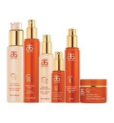 RE9 Advanced Set...  Includes Smoothing Facial Cleanser, Regenerating Toner, Intensive Renewal Serum, Corrective Eye Crème, Night Repair Crème, and Extra Moisture Restorative Day Crème SPF 15.