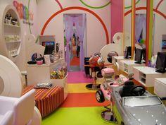 Candy Hair salon for kiddos