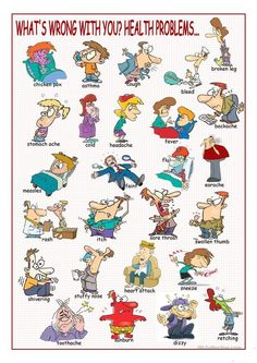 What's Wrong with You? (Health Problems Picture Dictionary) worksheet - Free ESL printable worksheets made by teachers