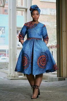 African Ankara designs for the ladies - DarlingNaija South African Dresses, South African Traditional Dresses, Latest African Fashion Dresses, African Dresses For Women, African Print Fashion, Africa Fashion, African Attire, African Clothes, African Prints
