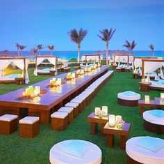 Party all night long in this beautiful setting. #wedding @JW Marriott Cancun