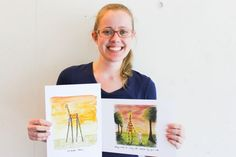 Motivating Giraffe changes lives around the world thanks to Queensland illustrator, Penny Redshaw.