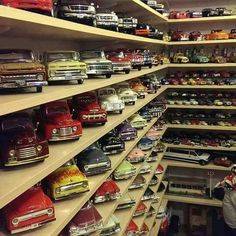 Creative Model Car Display Cabinet Looks Like Lighted