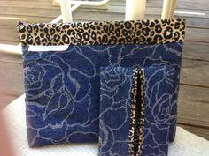 Blue-jean animal print snap bag (22.00 USD) by livelylocs