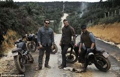 Half of David Beckham: Into the Unknown was spent watching the superstar and pals horse around, fidget with motorbikes and exchange boring banter
