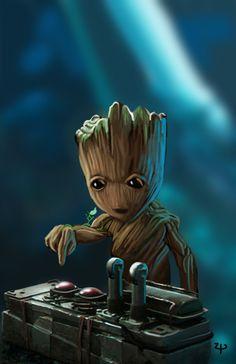 Baby Groot by HeroforPain on @DeviantArt