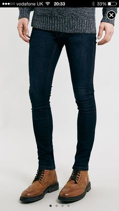 Only super tight skinny jeans Tight Jeans Men, Superenge Jeans, Boys Jeans, Sexy Jeans, Super Skinny Jeans, Skinny Pants, Boxers, Winter Outfits Men, Lined Jeans