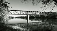 Galt train bridge B&W Cambridge Ontario Canada Gone Days, Cambridge Ontario, Wonderful Places, Trains, Roots, City Photo, Canada, Explore, History