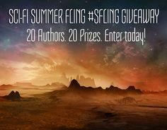 SciFi Summer Fling #SFling #amreading #giveaway #SciFi