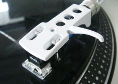 Blank Headshell, headshell, head shell, technics, SL 1200, cartridge, turntable needle, sure, ortfone, vestax, black, white, DJ, turntable, record player