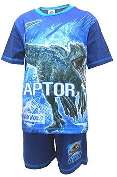 Jurassic World Boys Pyjamas Official Raptor Dinosaur Shor... https://www.amazon.co.uk/dp/B07CNQHY4Z/ref=cm_sw_r_pi_dp_U_x_GfZrBbANDJ9BG