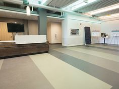 Rubber flooring images for industry from nora