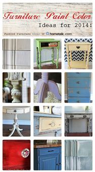 Furniture Paint Color Ideas for 2014