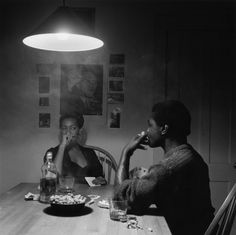 Carrie Mae Weems from the Kitchen Table Series