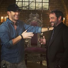 Bossing around the King of Hell. #Supernatural