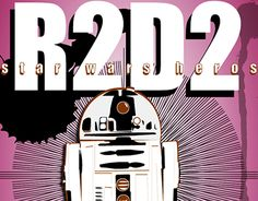 """Check out new work on my @Behance portfolio: """"Movie Characters // R2-D2"""" http://be.net/gallery/57972867/Movie-Characters-R2-D2"""