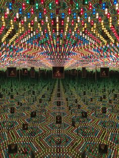 Yayoi Kusama - Infinity Mirror Room - Love Forever