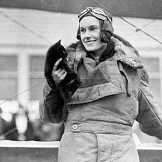 Jean Batten, was born on 15 September 1909 in Rotorua, New Zealand. Inspired by Charles Lindbergh story of crossing the Atlantic, she decided to become a pilot when she was 18. Her mother Ellen Batten, took her to England where she joined the London Aeroplance Club. Ellen Batten taught her daughter that there was nothing a woman could not do. At the same time she taught her that there were a great many things a woman should not do, such as showing weakness & not being properly dressed & made…