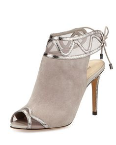 Keep your eyes open for this open-toe bootie! Alexandre Birman, 212 872 8947