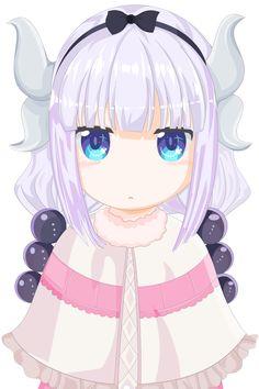 Kanna Kamui (Kobayashi-san Chi no Maid Dragon) by PaintAnimes on DeviantArt