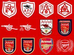 Chronological Logo History of Arsenal FC Arsenal Fc, Arsenal Badge, Arsenal Club, Arsenal Shirt, Arsenal Players, Arsenal Football, Football Team, Logo Arsenal, Soccer
