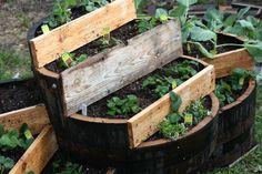 Image from http://www.untrainedhousewife.com/wp-content/uploads/2013/03/Finished-strawberry-planter-whiskey-barrel.jpg.