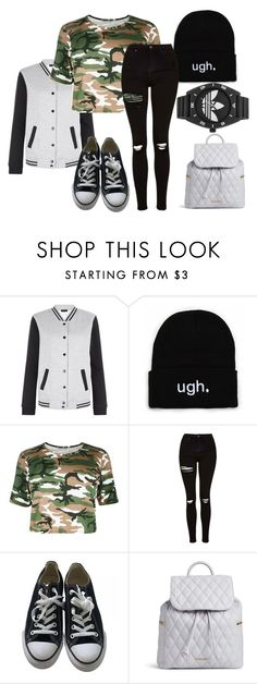 """""""Brooklyn Lahar"""" by crystal-imz on Polyvore featuring New Look, Topshop, Converse, Vera Bradley and adidas"""