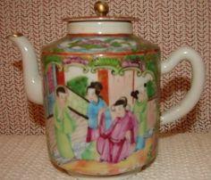 Antiques.com | Classifieds| Antiques » Antique Porcelain & Pottery » Antique Teapots & Tea Sets For Sale Catalog 2